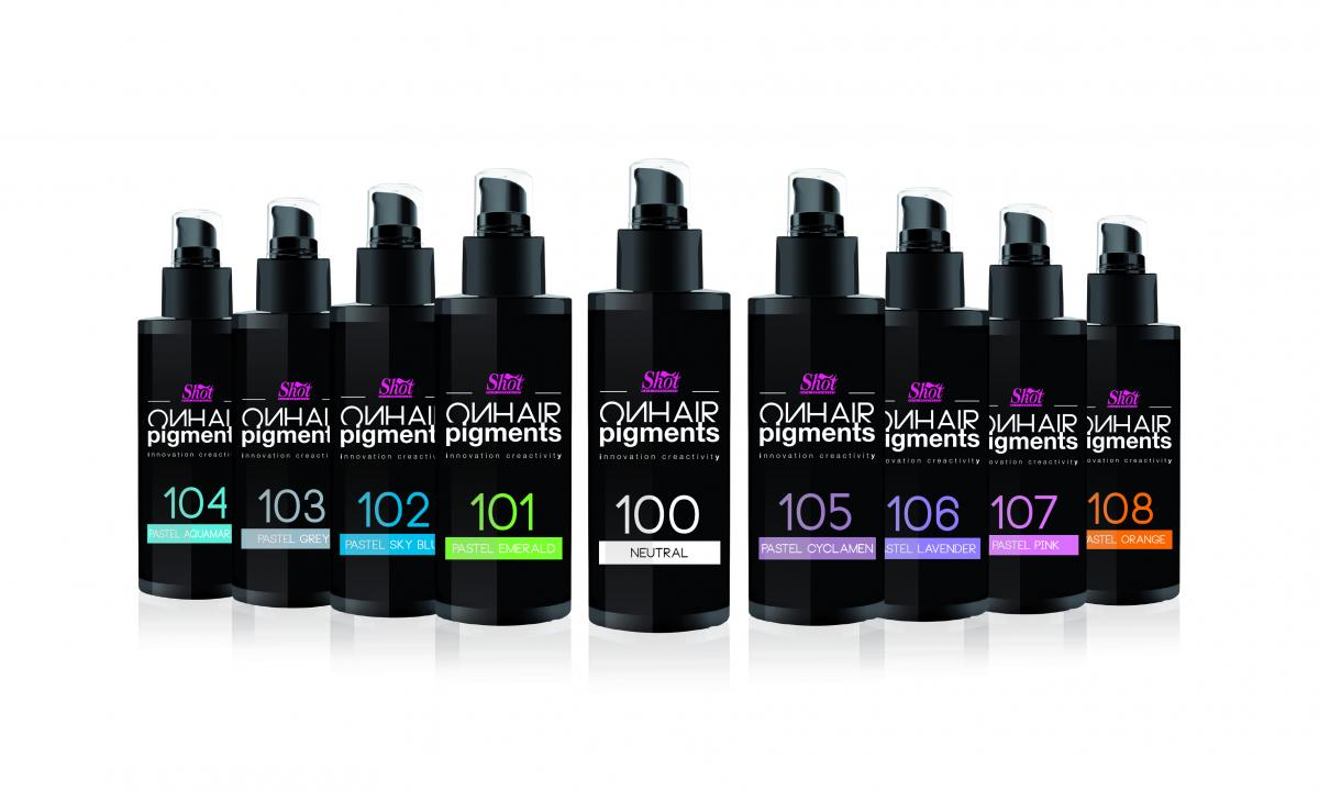 Colore per capelli On hair pigments