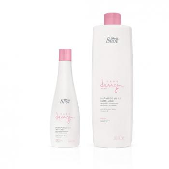 shampoo anti age care design trattante per capelli