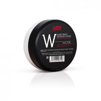 work activity linea finish shot cera hair wax strongly sound